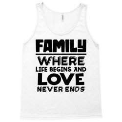 family quote 3 Tank Top | Artistshot