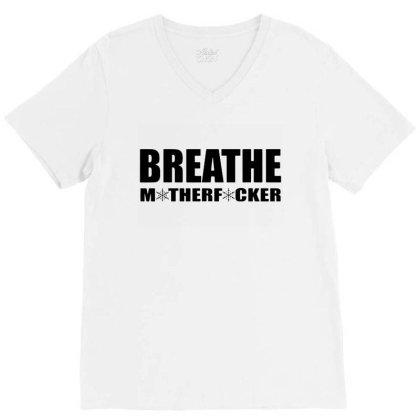 Breathe V-neck Tee Designed By Jacqueline Tees