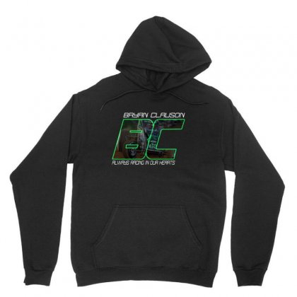 Bryan Clauson Tribute Unisex Hoodie Designed By Rardesign