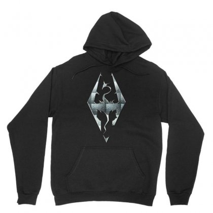 Skyrim Unisex Hoodie Designed By Rardesign