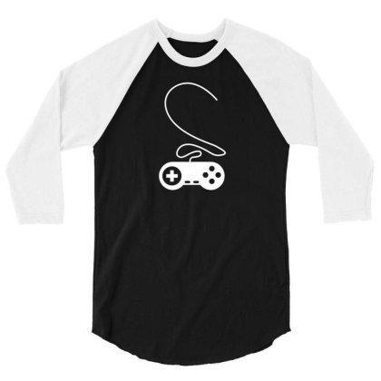 Controller Heart 3/4 Sleeve Shirt Designed By Fahmifutri17