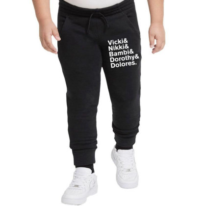 Darling Nikki And Other Muse's In Prince Music Youth Jogger Designed By Rardesign