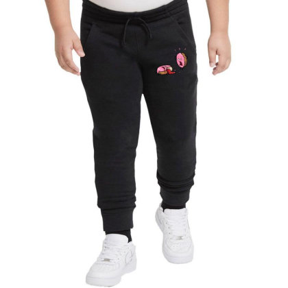 Donut Got His Jelly Splattered Youth Jogger Designed By Tonyhaddearts