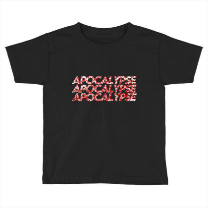 Apocalypse Toddler T-shirt Designed By Zee Arunika