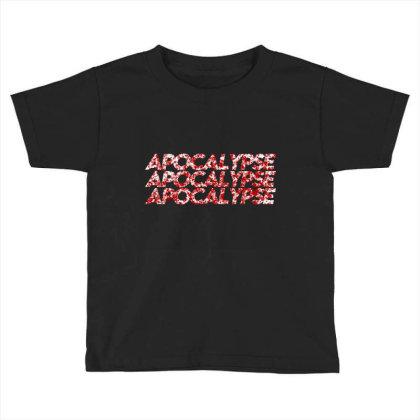 Apocalypse Toddler T-shirt Designed By Zee Arunika