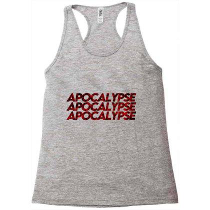 Apocalypse (black) Racerback Tank Designed By Zee Arunika