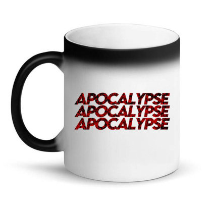 Apocalypse (black) Magic Mug Designed By Zee Arunika