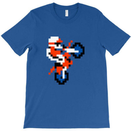 Excited Biker T-shirt Designed By Flaptzy