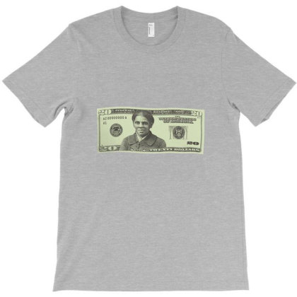 Harriet Tubman $20 Bill T-shirt Designed By Flaptzy