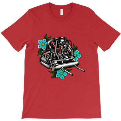 Air Cooled Heart T-shirt Designed By Dymary