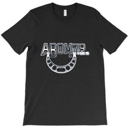 Abom79 Big Logo Black (standard Fit) T-shirt Designed By Dymary