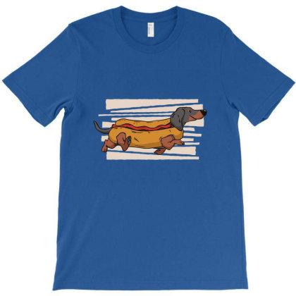 Weiner Dog T-shirt Designed By Dymary