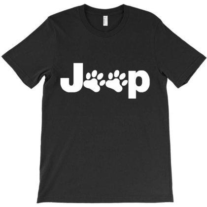 Parody Logo Jeep Paw T-shirt Designed By Zita Art