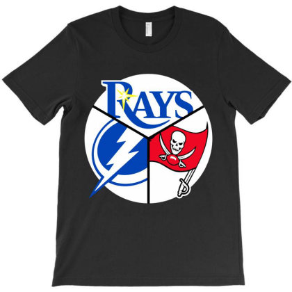 Tampa Bay Sports T-shirt Designed By Scranton Tees