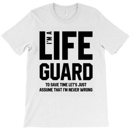 I'm A Lifeguard - Jobs Gift Occupation T-shirt Designed By Diogo Calheiros