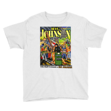 Comic Geek Funny Youth Tee Designed By Zig Street