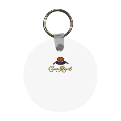 Crown Royal Frp Round Keychain Designed By Erni