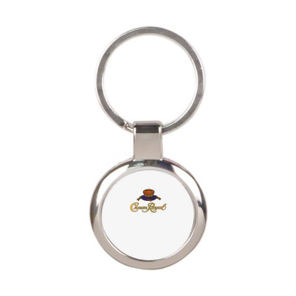 Crown Royal Round Keychain Designed By Erni