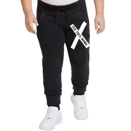 Deestroying Ten Toes Down Ttd Merch   For Dark Youth Jogger Designed By Just4you