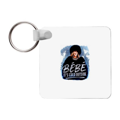 Moira Rose   Bebe It's Cold Outside Frp Square Keychain Designed By Garden Store