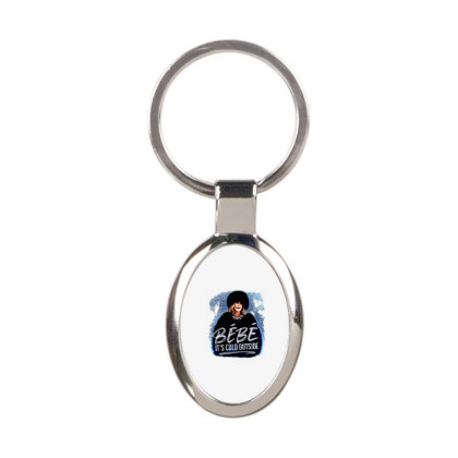 Moira Rose   Bebe It's Cold Outside Oval Keychain Designed By Garden Store