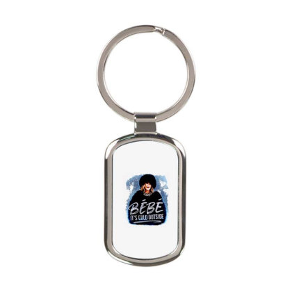 Moira Rose   Bebe It's Cold Outside Rectangle Keychain Designed By Garden Store