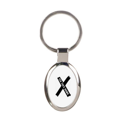 Deestroying Ten Toes Down Ttd Merch Oval Keychain Designed By Just4you