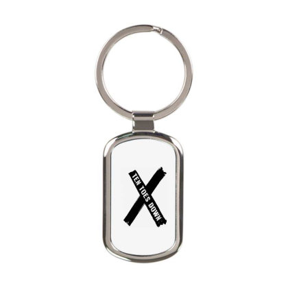 Deestroying Ten Toes Down Ttd Merch Rectangle Keychain Designed By Just4you
