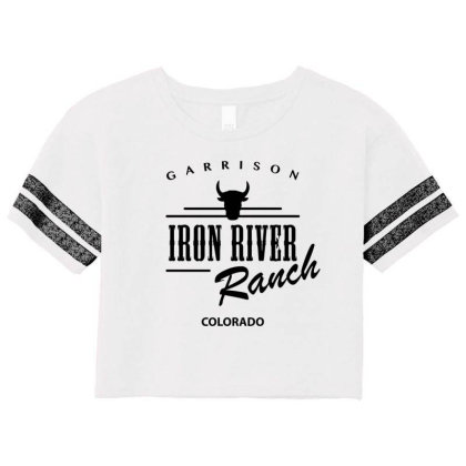 Iron River Ranch Scorecard Crop Tee Designed By Planetshirts