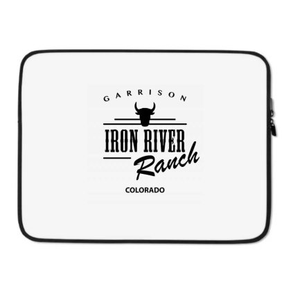 Iron River Ranch Laptop Sleeve Designed By Planetshirts