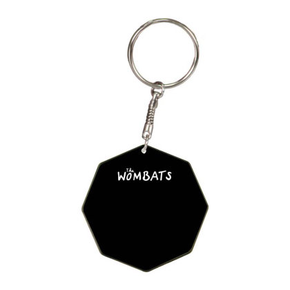 The Wombats Octagon Keychain Designed By Ronandi