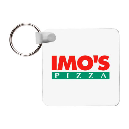 Imo's Pizza 2020 Frp Square Keychain Designed By Sephia