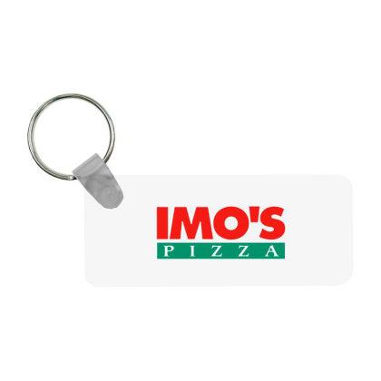 Imo's Pizza 2020 Frp Rectangle Keychain Designed By Sephia