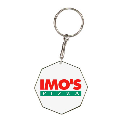 Imo's Pizza 2020 Octagon Keychain Designed By Sephia