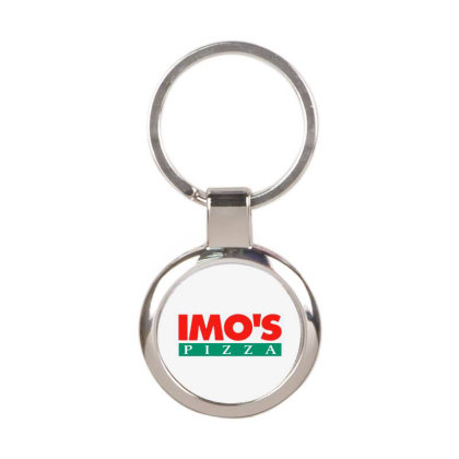 Imo's Pizza 2020 Round Keychain Designed By Sephia