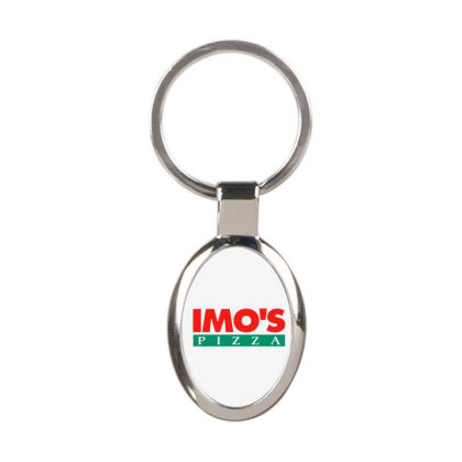 Imo's Pizza 2020 Oval Keychain Designed By Sephia