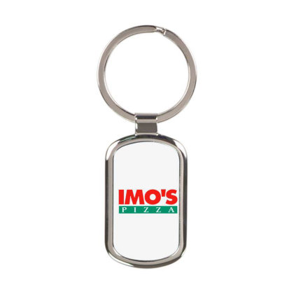 Imo's Pizza 2020 Rectangle Keychain Designed By Sephia