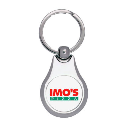 Imo's Pizza 2020 Silver Pear Keychain Designed By Sephia