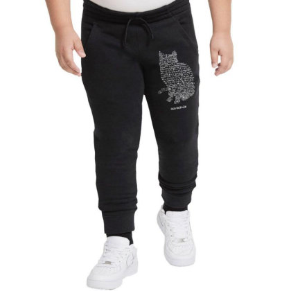 Cats Equation Youth Jogger Designed By Mdk Art