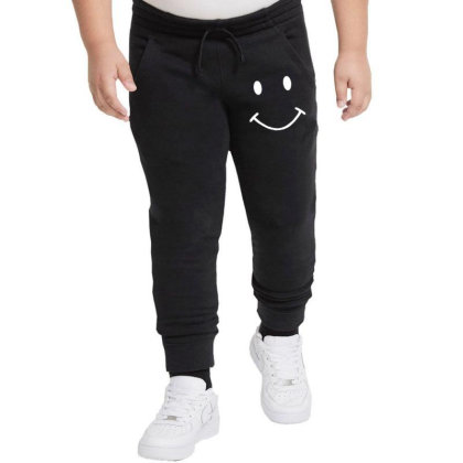 Smiley Face Youth Jogger Designed By Mdk Art