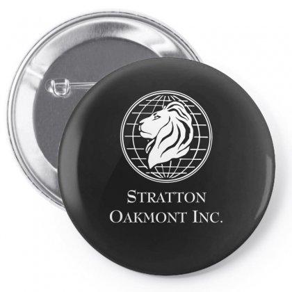 Street Stratton Oakmont Penny Stock Company Pin-back Button Designed By Mdk Art