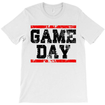 Vintage Sports Game Day T-shirt Designed By Zita Art