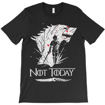 The Sword Warrior Not Today T-shirt Designed By Nicholas Pic