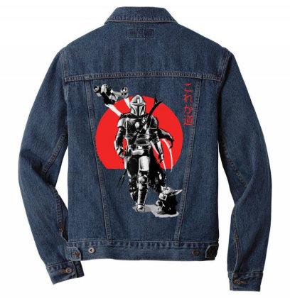 The Mandalorian Red Sun Men Denim Jacket