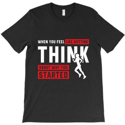 Gym Fitness - Motivation Workout T-shirt Designed By Diogo Calheiros