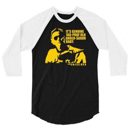 The Omega Man Charlton Heston 3/4 Sleeve Shirt Designed By Mdk Art