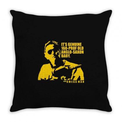The Omega Man Charlton Heston Throw Pillow Designed By Mdk Art
