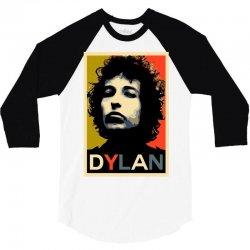 Bob Dylan 3/4 Sleeve Shirt   Artistshot