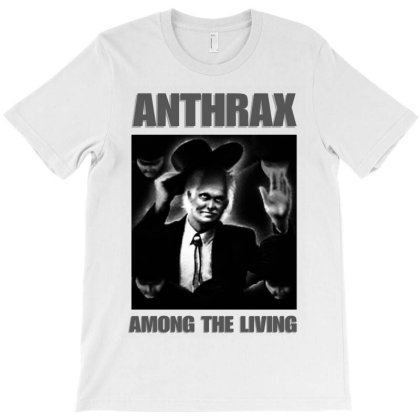 Anthrax Among The Living T-shirt Designed By Unicorn Art