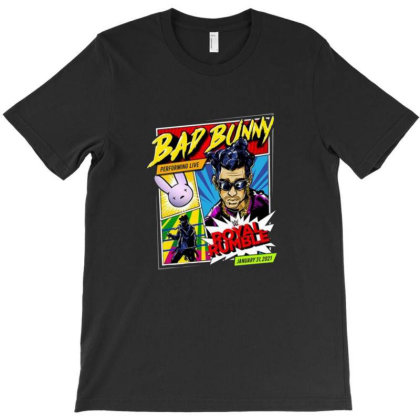 Bad Bunny X Royal Rumble 2021 T-shirt Designed By Ngregs